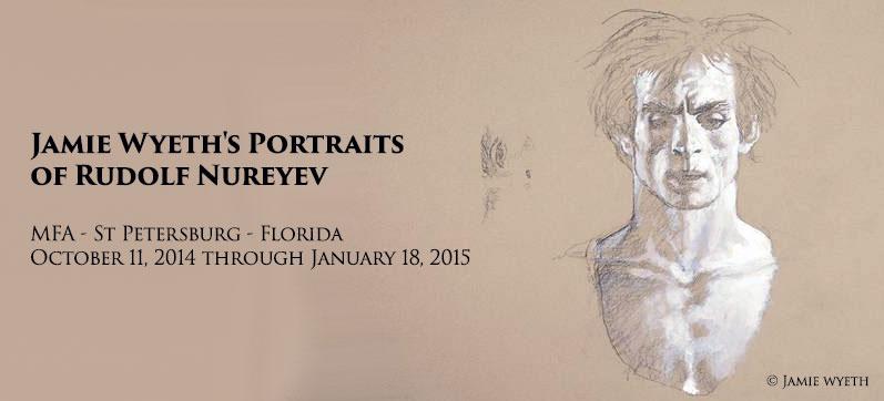 wyeth portrait Noureev