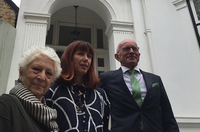 Monica Mason, Sylvie Guillem et Claude Blum