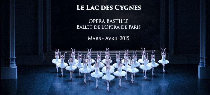 lac des cygnes Noureev Opéra de Paris 2015