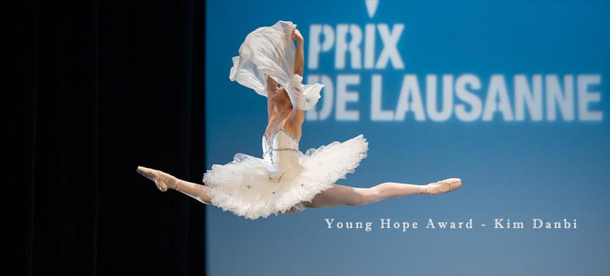 Kim Danbi Prix de Lausanne Jeune espoir