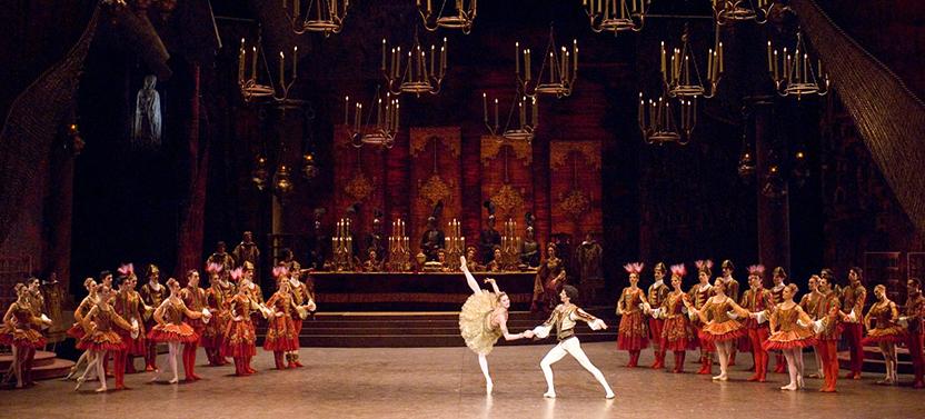 Raymonda ballet Opera Roma
